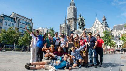 Chiro's uit 23 landen leren al spelend Antwerpen kennen