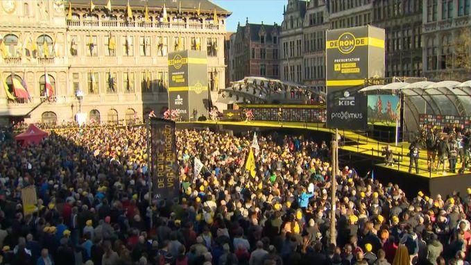 Antwerpenaren apetrots op 'hun' start