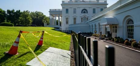 'Melania ontsnapt': zinkgat in gazon Witte Huis zorgt voor grappenregen