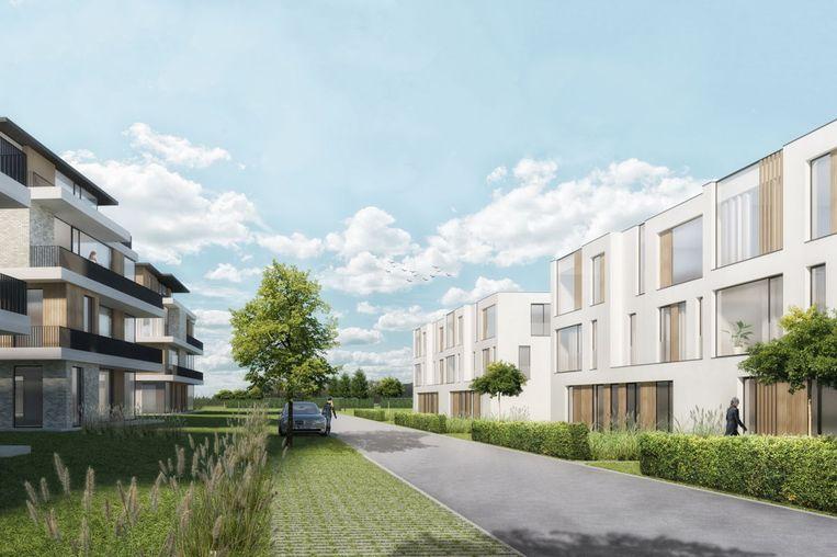 Het project Patmoes voorziet 160 woningen van allerlei soort, verspreid over diverse woonblokken.