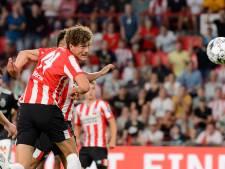 Sam Lammers traint weer individueel mee bij PSV en richt zich op de tweede seizoenshelft