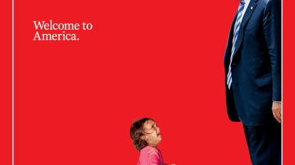 """Time Magazine pakt uit met sprekende cover: """"Welkom in Amerika"""""""