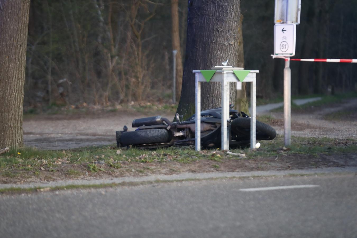 Motorrijder ernstig gewond in Sterksel