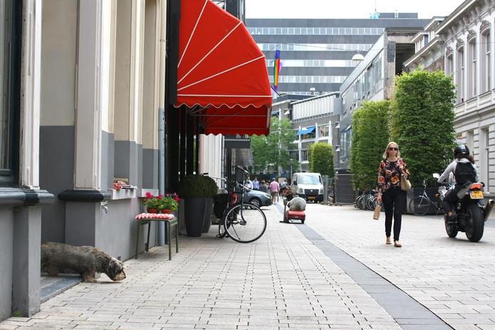 De Willem-II-straat in Tilburg.