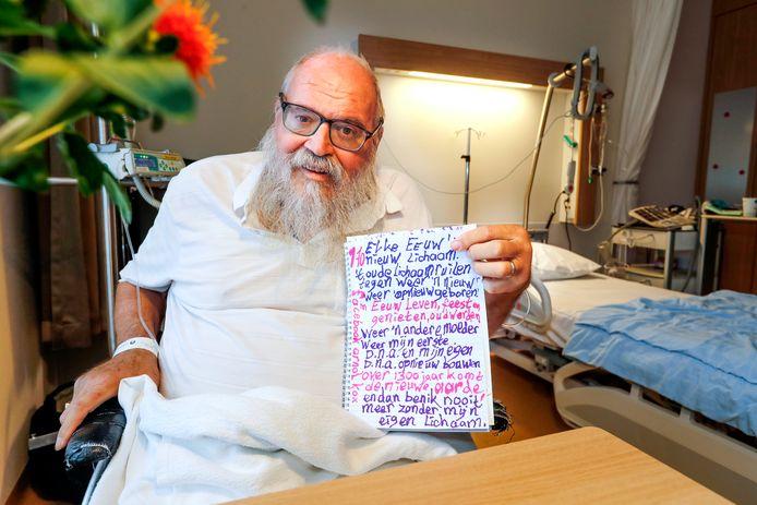Stadsprediker *Arnold Kox* ligt in het ziekenhuis eindhoven