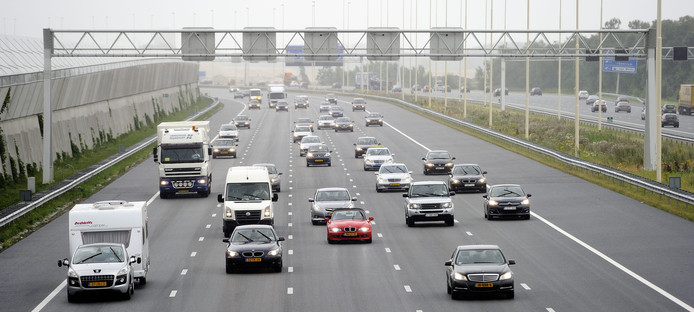 Rijksweg A2.