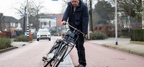 Vrees in Lent voor 'middengeleiders des doods' op de fietsstraat