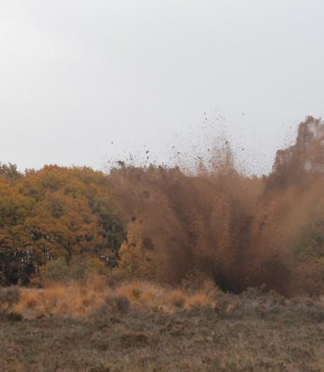 Explosief op Ermelose heide tot ontploffing gebracht