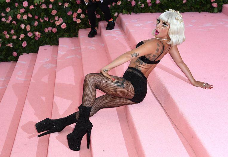 Lady Gaga op het MET Bal