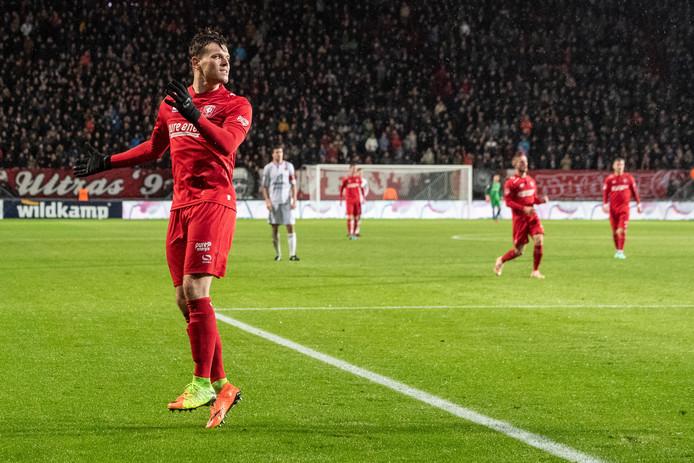 Tom Boere krijgt tegen Fc Den Bosch de voorkeur boven Jari Oosterwijk.