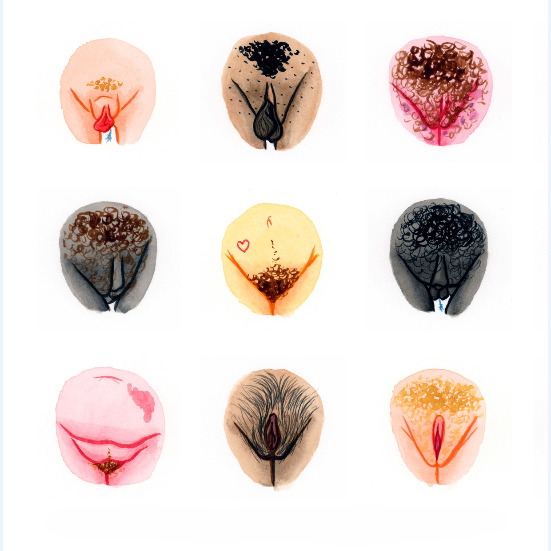 Vulva Diversity: Mensen van over de hele wereld mailen