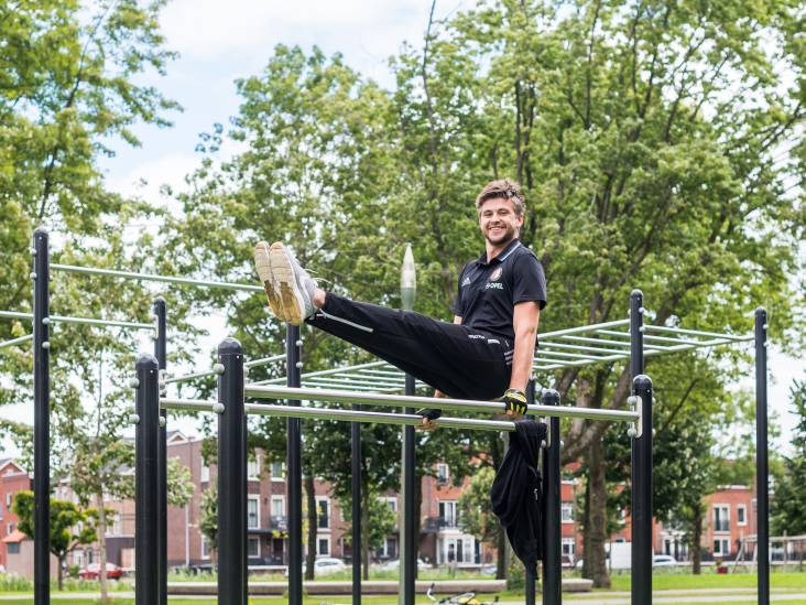 Dion sport iedere dag in de buitenlucht: 'Zo word ik steeds een beetje sterker'