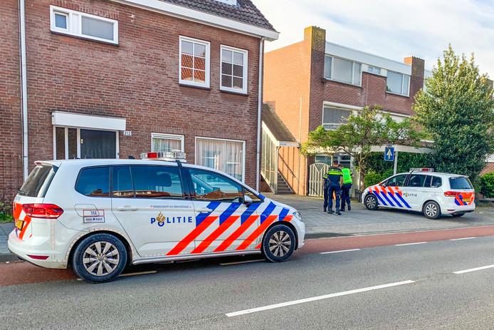 Het lichaam werd gevonden bij garageboxen achter de Tongelresestraat in Eindhoven