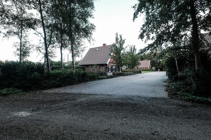 De recreatiewoning van de familie Wassink.