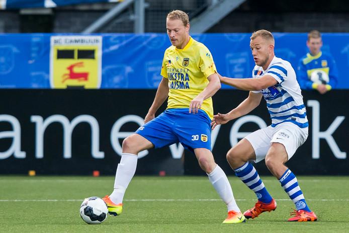 Michiel Hemmen (links) sluit per direct aan bij FC Lienden.