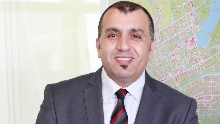 Stadsdeelvoorzitter Achmed Baâdoud Beeld Stadsdeel Nieuw-West