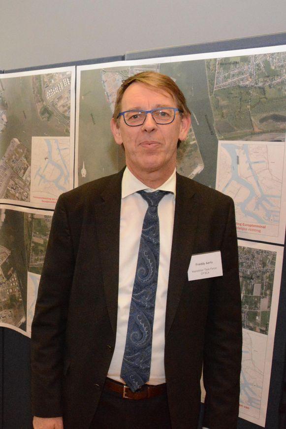 Freddy Aerts, hoofd van de task force die de leefbaarheid van Doel moet verbeteren.
