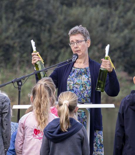 En toch nog een 'intredefeestje' voor dominee Lisette van Buuren op Het Lageveld in Wierden
