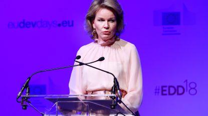 Koningin Mathilde pleit voor hulp aan kindsoldaten