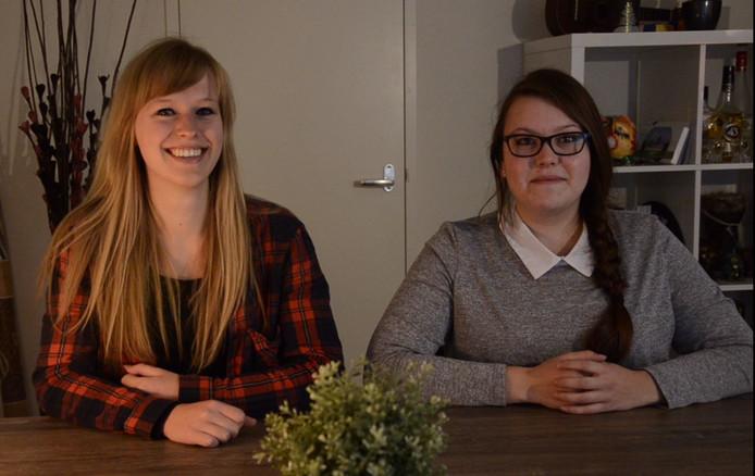 Bloggers Ilse en Imke over 'iets met een gevaarlijke brief?'.