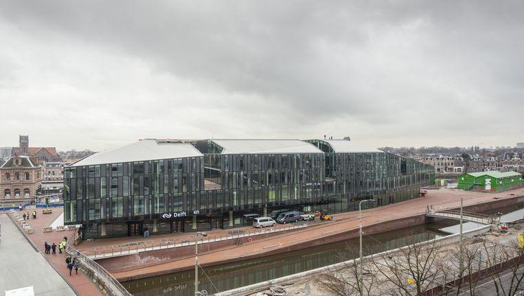 Het nieuwe station van Delft. Beeld Harry Cock / de Volkskrant