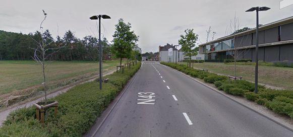 De werken situeren zich van woonzorgcentrum De Weister tot een eind voorbij Floribel Toys