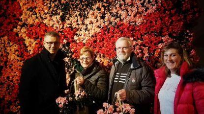 Wintersfeer in Damme verwelkomt 4.000ste bezoeker van bloemententoonstelling
