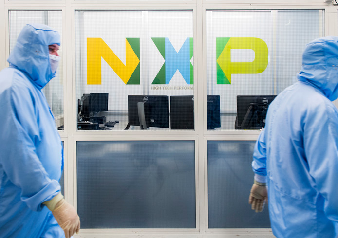 Chipproducent NXP.