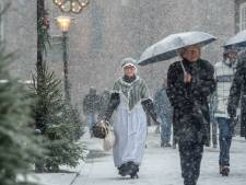 Dickens Druten in de sneeuw, wie stuurt er foto's?