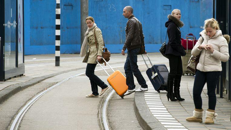 Teleurgestelde reizigers Beeld anp