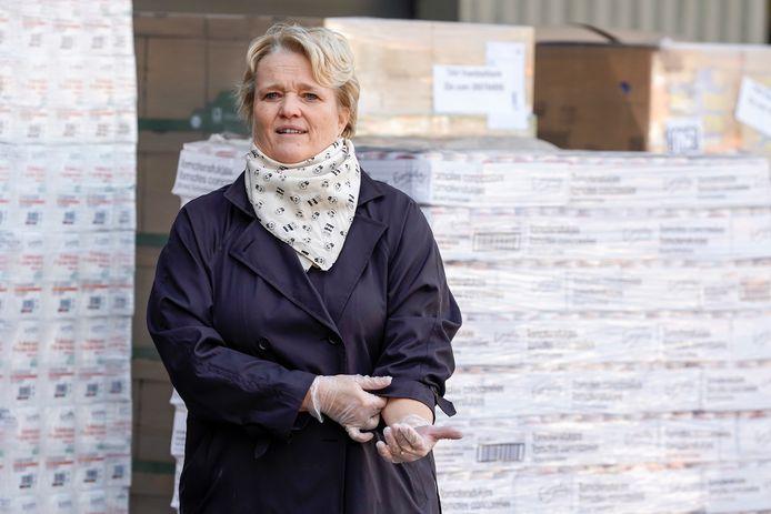 La ministre de l'Economie Nathalie Muylle.