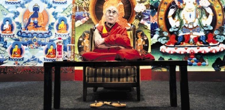 Boeddhisten hanteren storende emoties met meditatie. (FOTO AFP) Beeld