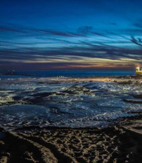 Zo'n 1,17 miljoen kuub zand erbij op de stranden van Burgh-Haamstede en Westenschouwen