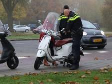 Scooterrijdster gewond bij aanrijding in Vlissingen