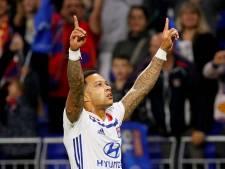 Geniale Depay schiet Lyon naar voorronde Champions League