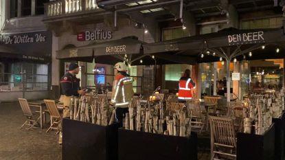 "Grote Markt in rep en roer door hevige geurhinder na rioleringswerken: ""Het leek op een sterke gasgeur"""