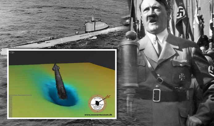 Had de U-3523 hooggeplaatse nazi's en een goudschat aan boord?