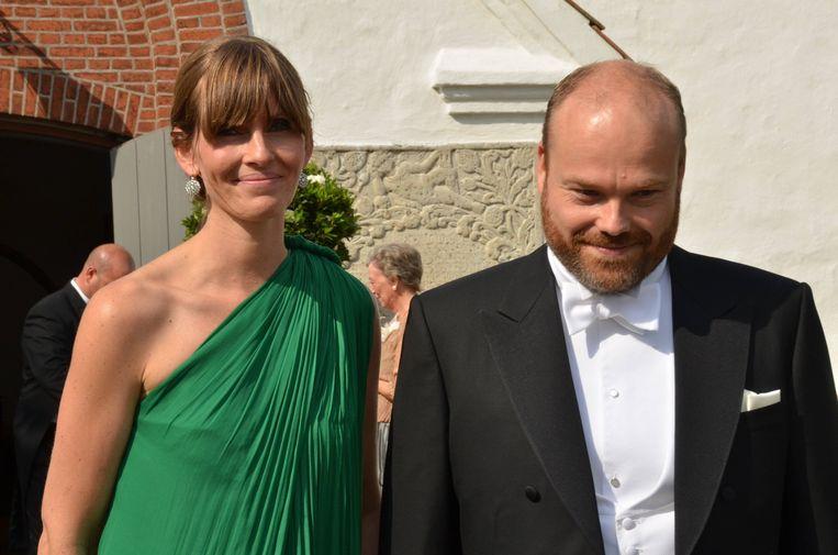 Anders Holch Povlsen met zijn vrouw Anne Storm Pedersen.