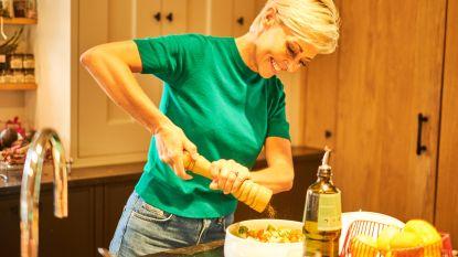 """Rani De Coninck geeft kooktips om gezond én lekker te koken, juist als je weinig tijd hebt: """"Dankzij dit weekplan krijg ik rust in mijn hoofd"""""""