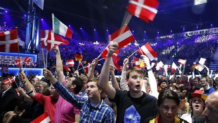 COC boos om 'verbod' regenboogvlag op Eurovisie Songfestival | De Volkskrant