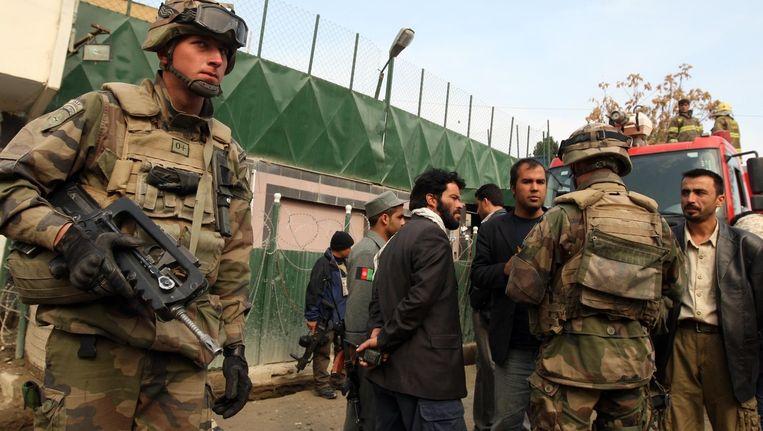 NAVO-soldaten in de Afghaanse hoofdstad Kaboel. (Archieffoto)