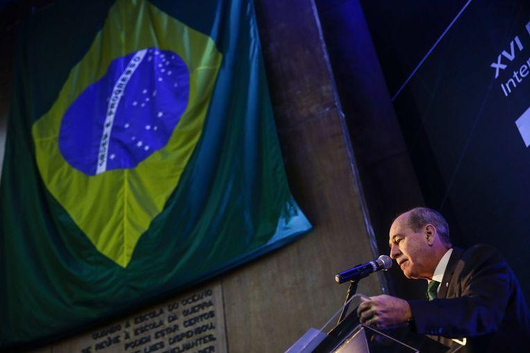 De Braziliaanse minister van Defensie Fernando Azevedo e Silva.