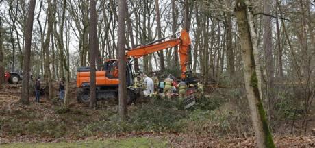 Jongeman overlijdt doordat boom op hem valt bij  werkzaamheden in Lunteren