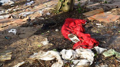 Het stort in Groot-Bijgaarden of de bosjes waar de transmigranten zich schuilhouden