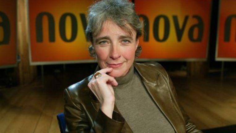 Clairy Polak als presentatrice van NOVA. Foto ANP Beeld