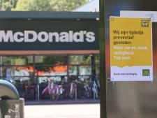 Twee medewerkers van McDonald's aan De Werf positief getest op corona, filiaal sluit de deuren
