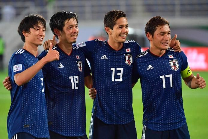 Van links naar rechts: Tsukasa Shiotani, Yoshinori Muto, Sei Muroya en Toshihiro Aoyama.