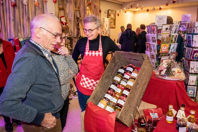 Kerstmarkt in de Stuik in Vorstenbosch afgelopen jaar.