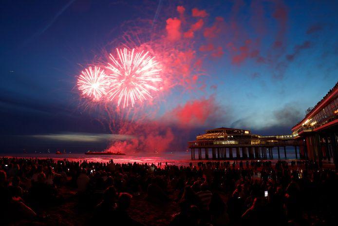 Het vuurwerkfestival kon niet in originele vorm doorgaan wegens de coronamaatregelen.
