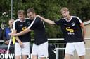 Het zaterdagteam van Quick'20 kan de club uit Oldenzaal toch nog een glimlach bezorgen.